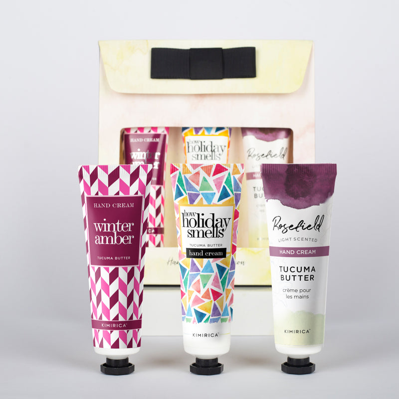 How Holiday Smells Hand Creams (Pack Of 3)