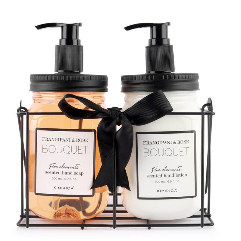 bouquet hand care duo with the goodness of the shea butter almond oil aloe vera