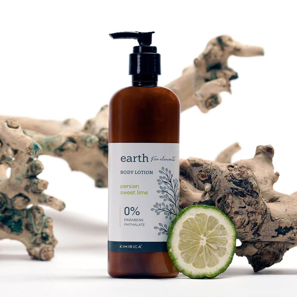 Earth Body Lotion with Goodness of the Persian Lime kimirica