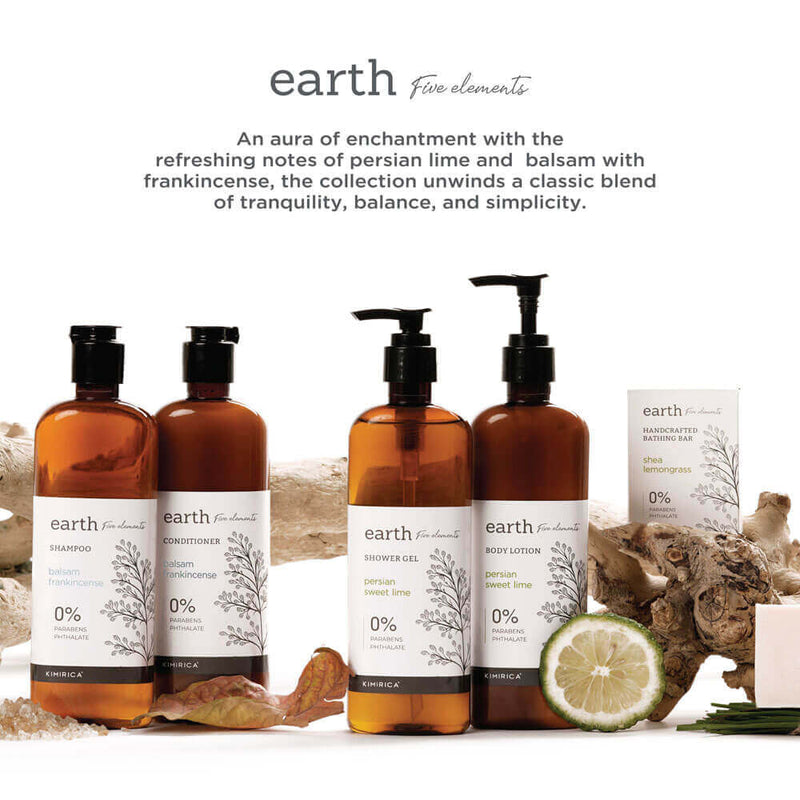 Earth Shampoo with goodness of the Balsam and Frankincense by kimirica