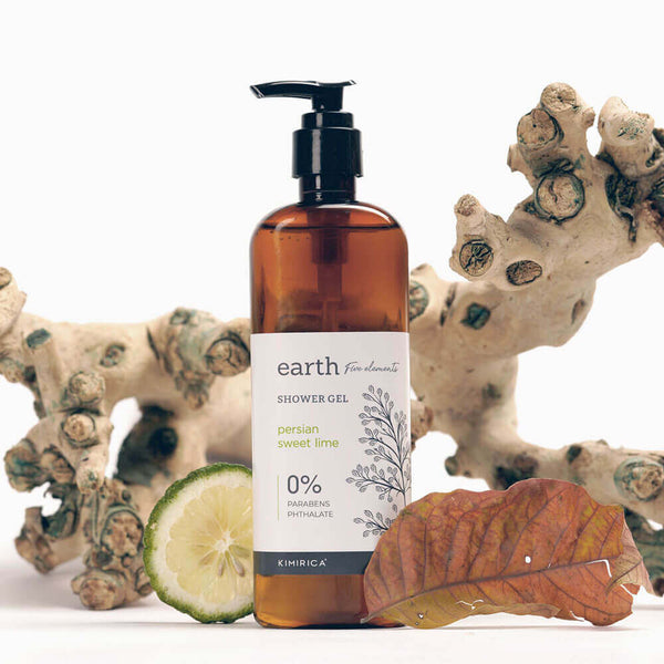 Earth Shower Gel with goodness of the Persian sweet lime Kimirica