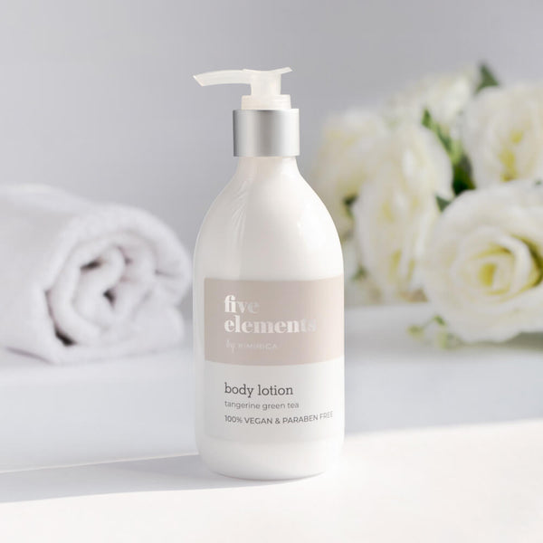 Five Elements Body Lotion With goodness of the Tangerine Green Tea by Kimirica