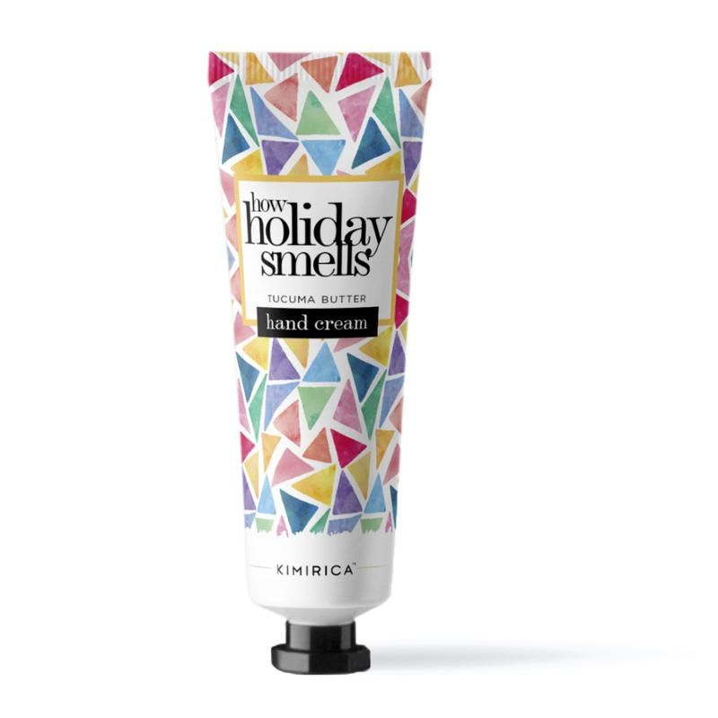How Holiday Smells Hand Cream with the goodness of tucuma butter by kimirca