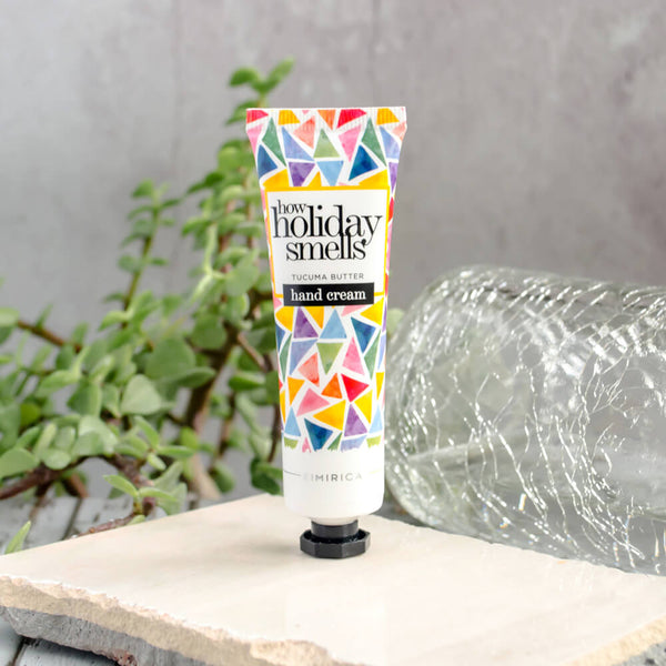 How Holiday Smells Hand Cream Comes with goodness of Tucuma Butter and Richness of Argan oil