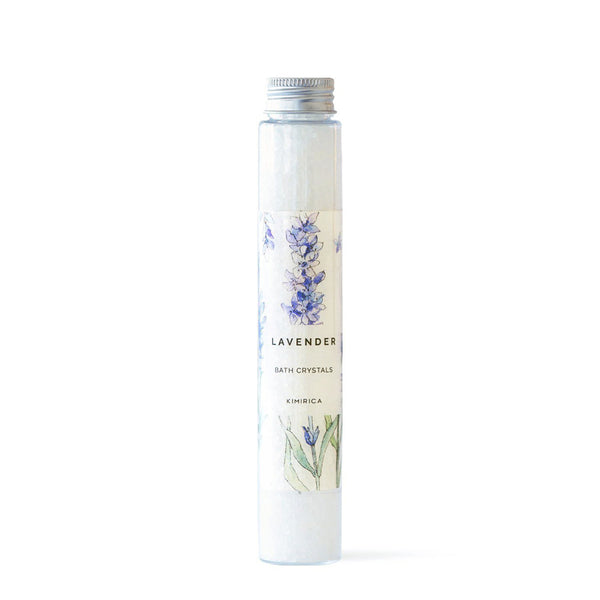 The Bath Salt Lavender with the the Delicate fragrance of Lavender