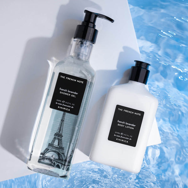 The French Note Bath Care Duo by Kimirica