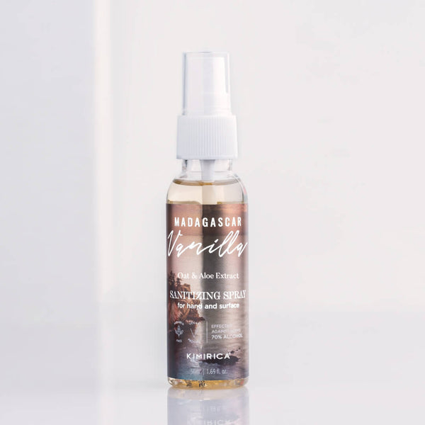 Madagascar Vanilla Hand Cleansing Spray