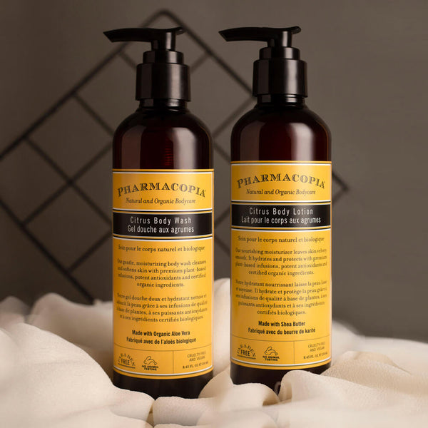 Pharmacopia Citrus Bath Care Duo