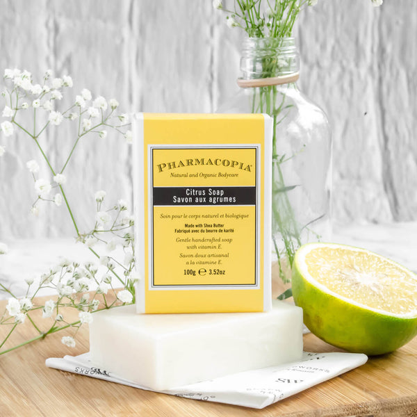 pharmacopia citrus bathing bar by kimirica