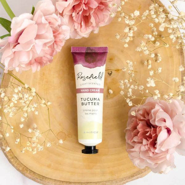 Rosefield Hand Cream Comes with goodness of Tucuma Butter and Richness of Argan oil