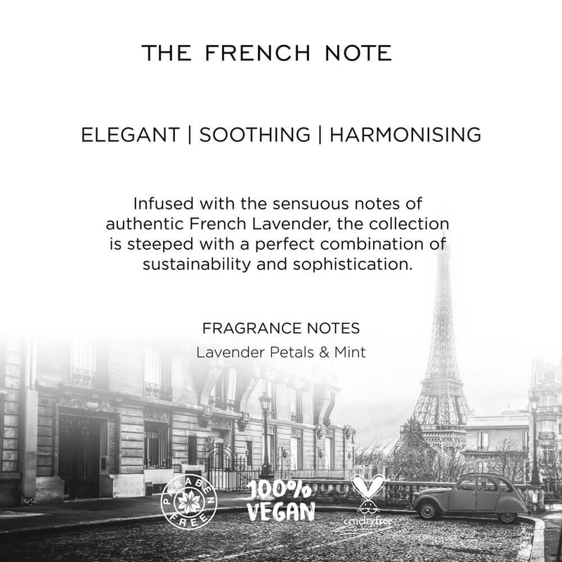 The French Note Shampoo With Goodness Of The French Lavender Kimirica