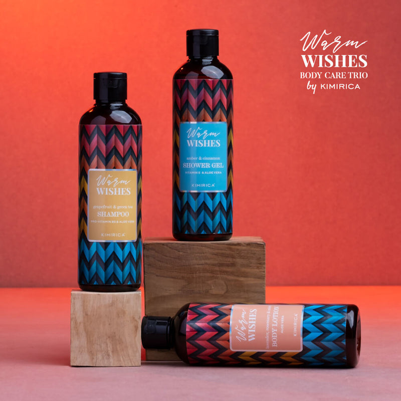Warm Wishes Shower Gel With The Goodness Of Vitamin E And Aloe Vera By Kimirica