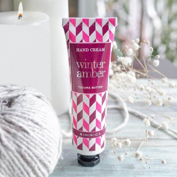 Winter Amber Hand Cream Comes with goodness of Tucuma Butter and Richness of Argan oil