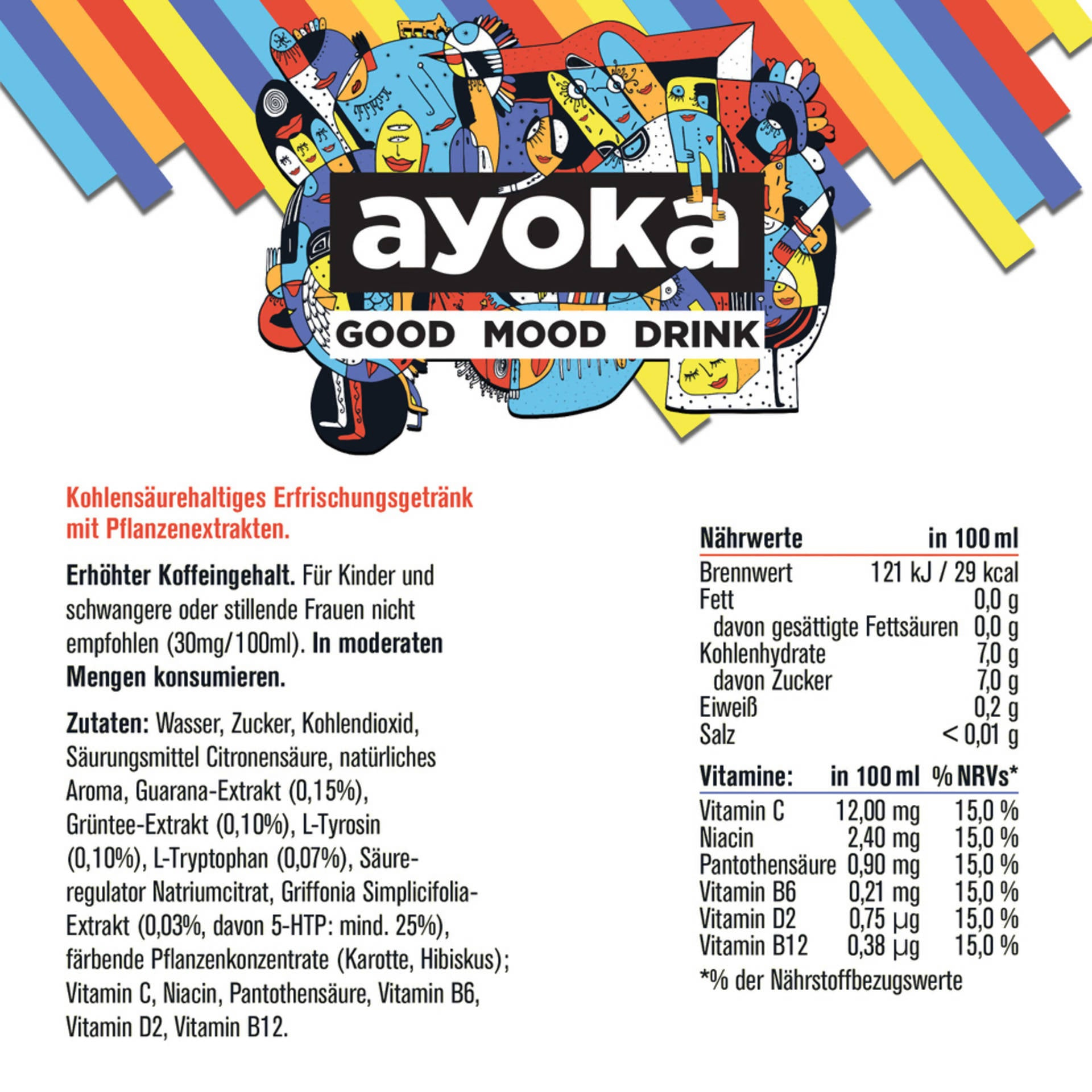 ayoka - Good Mood Drink - (6x250ml)