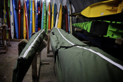 Canvas canoe and ama bag
