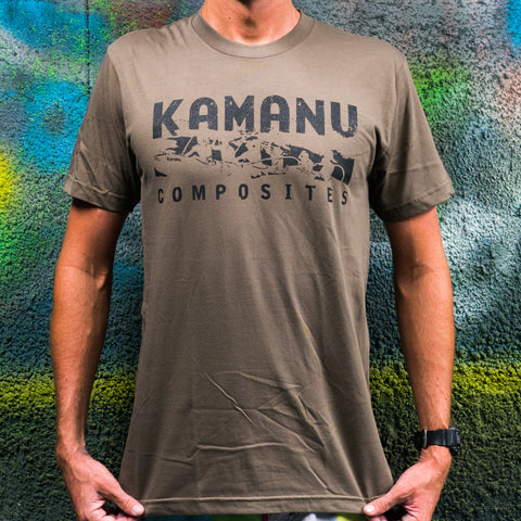 Brown organic t-shirt