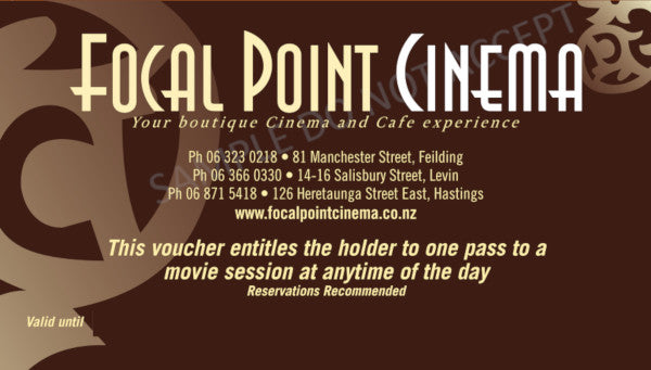 ADULT MOVIE GIFT VOUCHER