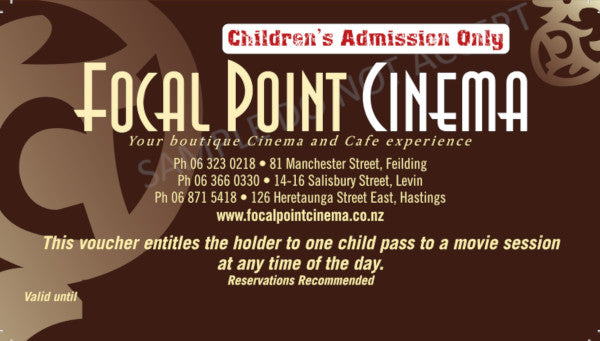CHILD MOVIE GIFT VOUCHER