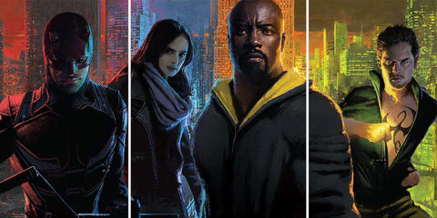 Geekly Good Weigh In: The Marvel Netflix Universe