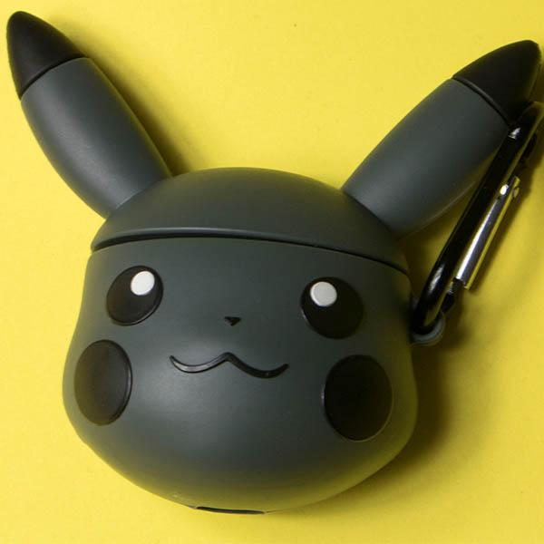 Pikachu Airpod Cover Case - Black