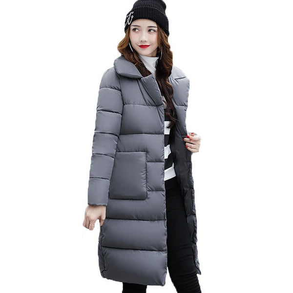 Dow parka women down jacket winter coat winter parka cotton padded jacket Woman Winter Jacket Coat 2018