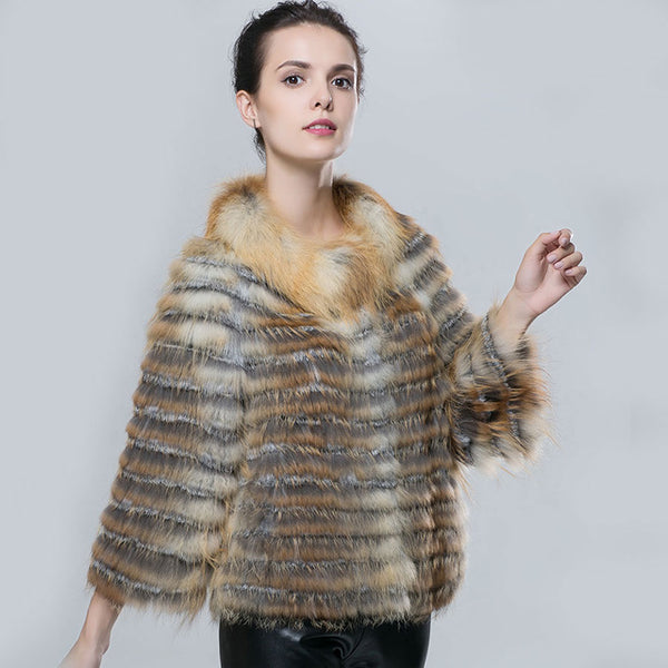 Natural Fur Coat Real Fox Fur Coat Women Real Fox Fur Coat Women's Jacket  All the goods in our shop are genuine leather