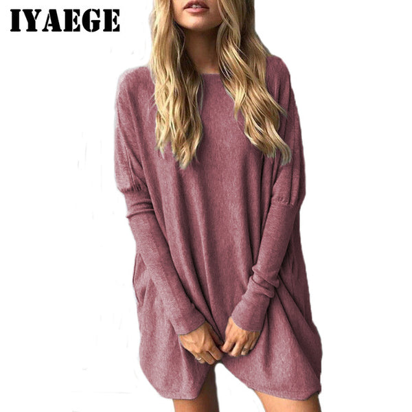 2020 New Arrival Spring Womens Tops and Blouses Casual Batwing Long Sleeve Blouse Tunic Tops Tee Shirt Femme Blusas 3XL