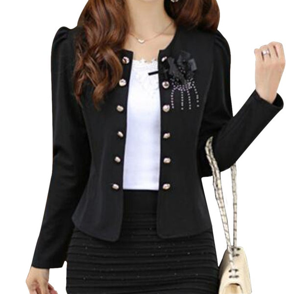 NEW women summer style clothing outerwear slim coat jacket feminine blazer short casual woman's suit thin suit coat