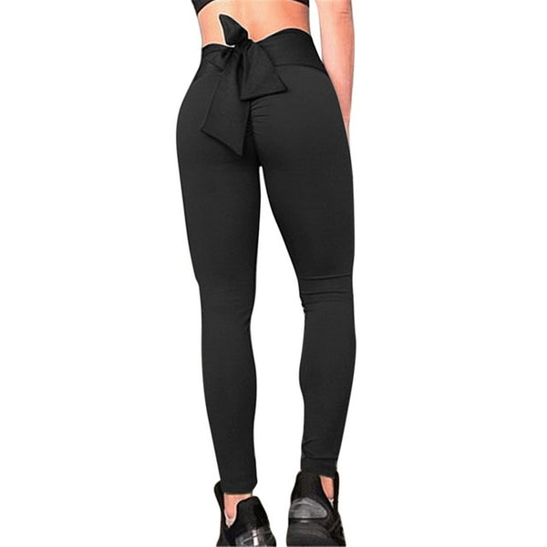 Fashion Push Up Women Leggings 2020 New Bow Leggings Women 2020 New Workout Leggings Slim Jeggings Women Pencil Pants