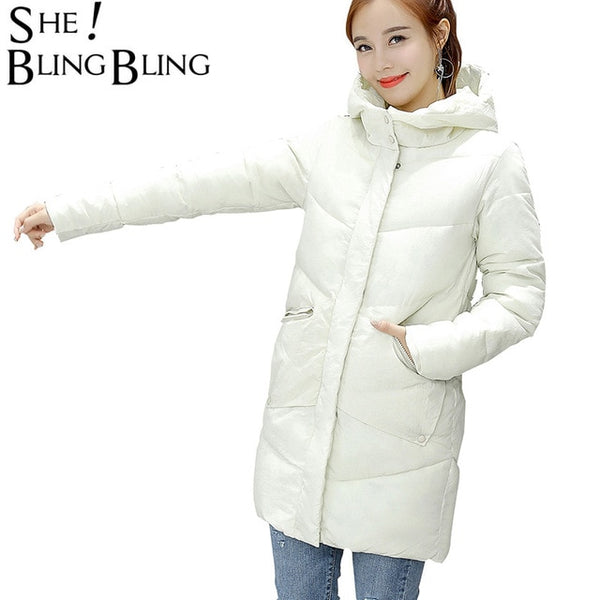 High Quality Winter Jacket Long Parkas Plus Size Winter Coat Women Autumn Wear Thick Coats Women Outwear