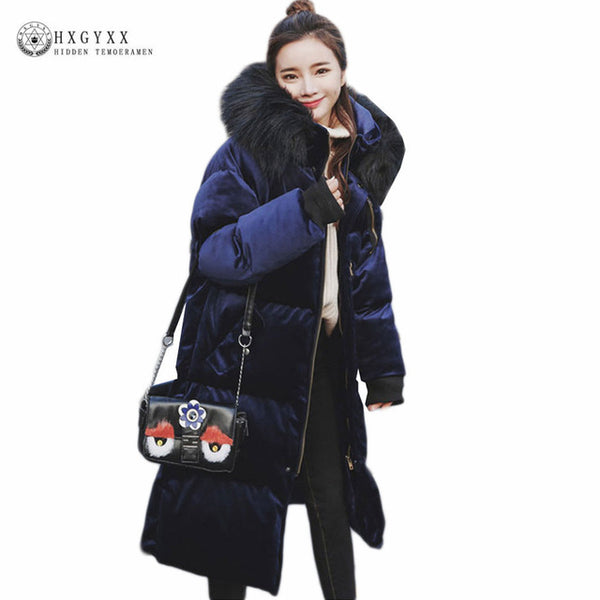 Warm Long Winter Military Coat Women 2020 Fur Fashion Hooded Quilted Jacket Plus Size Thick Velour Parka Padded Snow Wear Okb138
