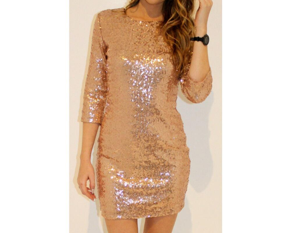 Plus size Sequin Dress Special Occasion Bodycon Dress Party Sequined ...