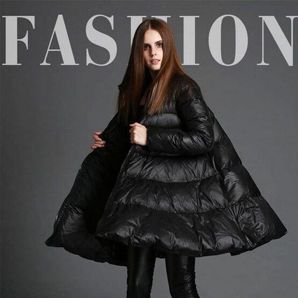 Winter Jacket Women 2020 White Duck Down Jackets High Quality Women's Skirt Style Long Thickening Warm Womens Down Coats