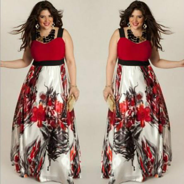 Women Dress 2020 Vintage Floral Printed Dress Summer Elegant Party Dress vintage Patchwork Sleeveless Dress For Ladies