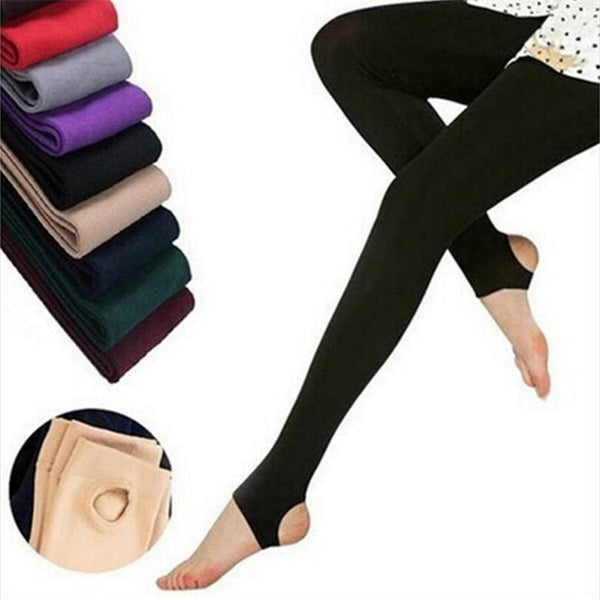 2020 New Fashion Casual Warm Faux Velvet Winter Leggins Women Leggings Knitted Thick Slim Women Legins Woman Solid Pants
