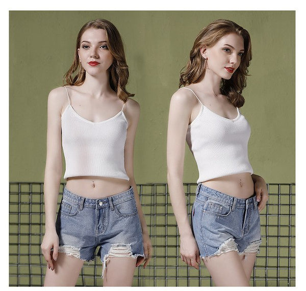 e25323c495c YUANLSH Sexy White Ripped Denim Shorts Women Jeans Blue Fray Hem 2018  Summer Clothes Plus Size