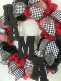 Alabama Roll Tide Game Day Wreath