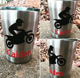 kid Stainless Steel Tumblers, Customized Tumblers, Customized Kid Cups, Birthday Gift, Valentines Gift, Easter Gift, 10 ounce Tumbler