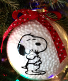 Snoopy and Woodstock Christmas Ornament