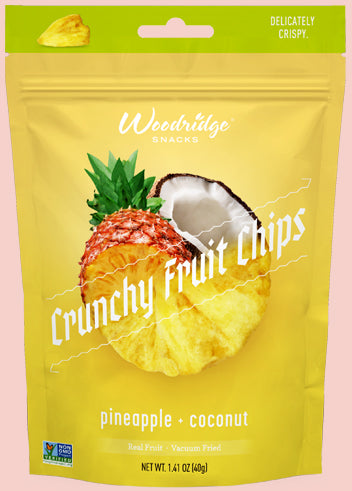 Pineapple + Coconut  <span>Crunchy Fruit Chips</span>