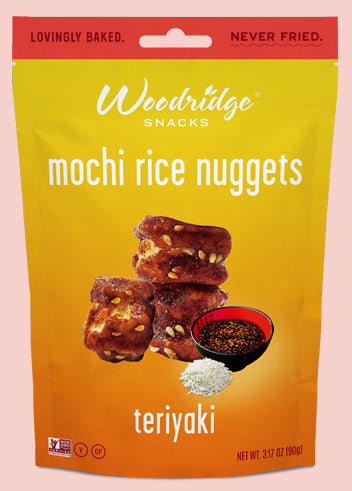Teriyaki  <span>Mochi Rice Nuggets</span>