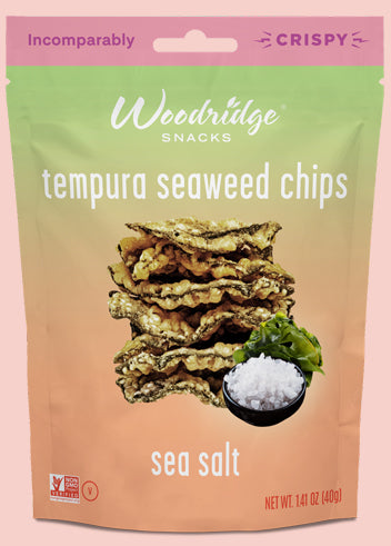 Sea Salt  <span>Tempura Seaweed Chips</span>