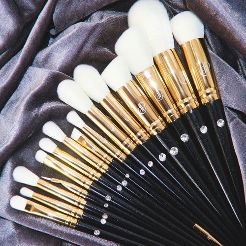 Diamond in the Rough 18pc Eye & Face Brush Set