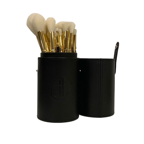 Two Piece Travel Brush Case