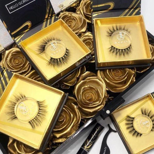 Lash Lovers Duo Kit Luxury Silk Lashes CJP Beauty