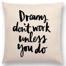 Load image into Gallery viewer, Decorative Motivational Cushion Covers