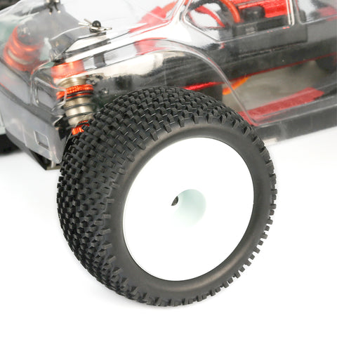 L6237 1/14 Pre-glued Heavy Duty Block Pin Truggy Tires