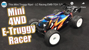 This Mini Truggy Rips! - LC Racing EMB-TGH 1/14 Brushless RTR | RC Driver
