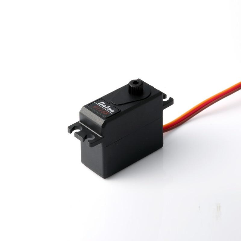 L6045 BATAN D115F SERVO 32.2x15x28.1mm 26g, 4.0kg/cm(6v) 0.1sec/60deg (6v) dual ball bearing digital<br><br><font size=2> (For EMB-WRC, EMB-1, EMB-SC, EMB-DT, EMB-TC, EMB-TG, EMB-MT, LC12B1)</font>