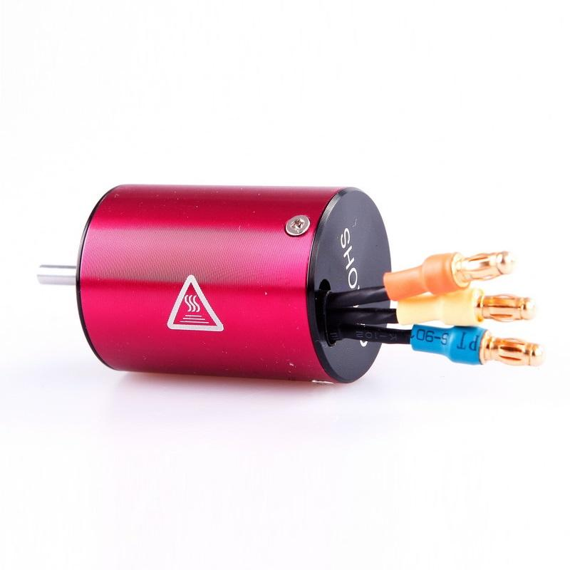 L6048 BRUSHLESS MOTOR micro 380, 6.5T/4500kV, 4 Pole 2838 3.175mm Shaft Modified<br><br><font size=2> (For EMB-WRC, EMB-1, EMB-SC, EMB-DT, EMB-TC, EMB-TG, EMB-MT)</font>